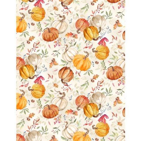 Autumn Day Pumpkin Toss Tan