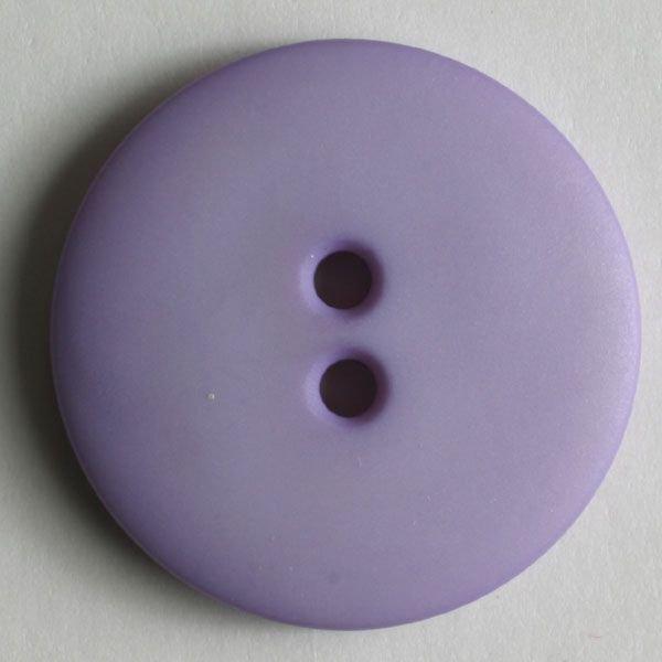 Soft Lilac Buttons - 15 mm 2 hole color 19