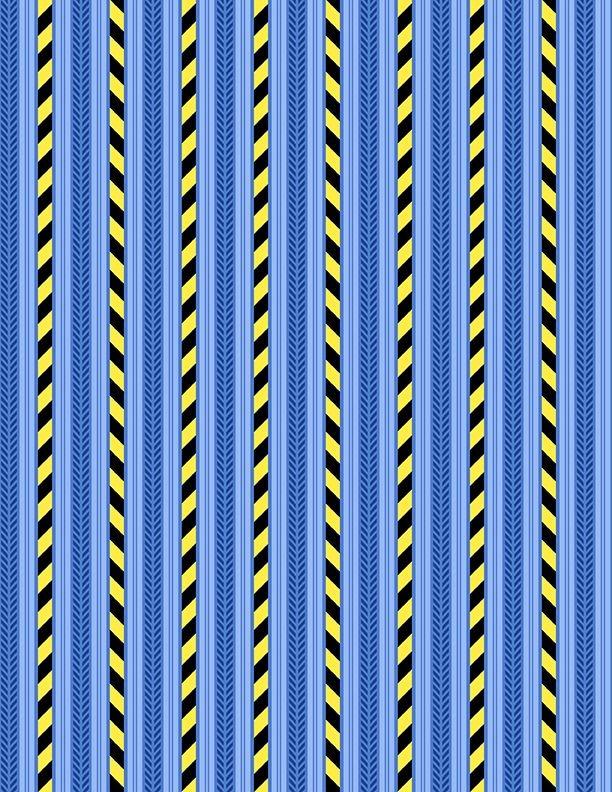 Building Dreams Stripe Blue
