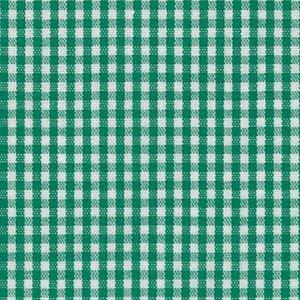 Kelly Gingham Fabric 1/16