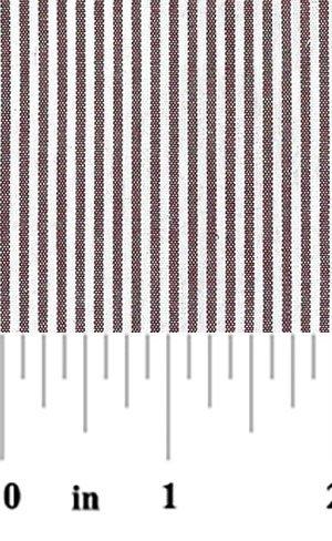 1/16 Crimson Stripe - Fabric Finders