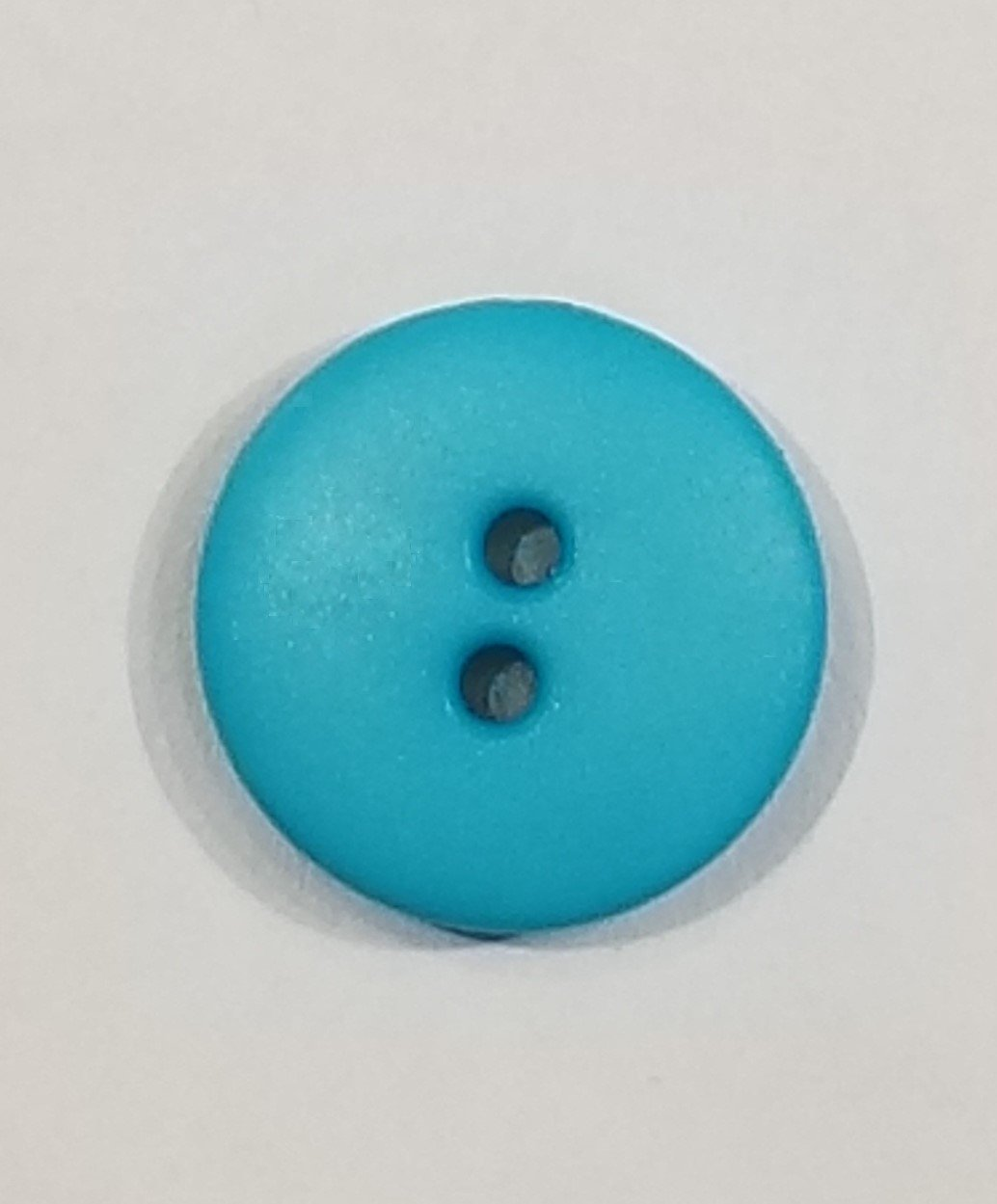 Buttons 20mm 2 hole Aqua