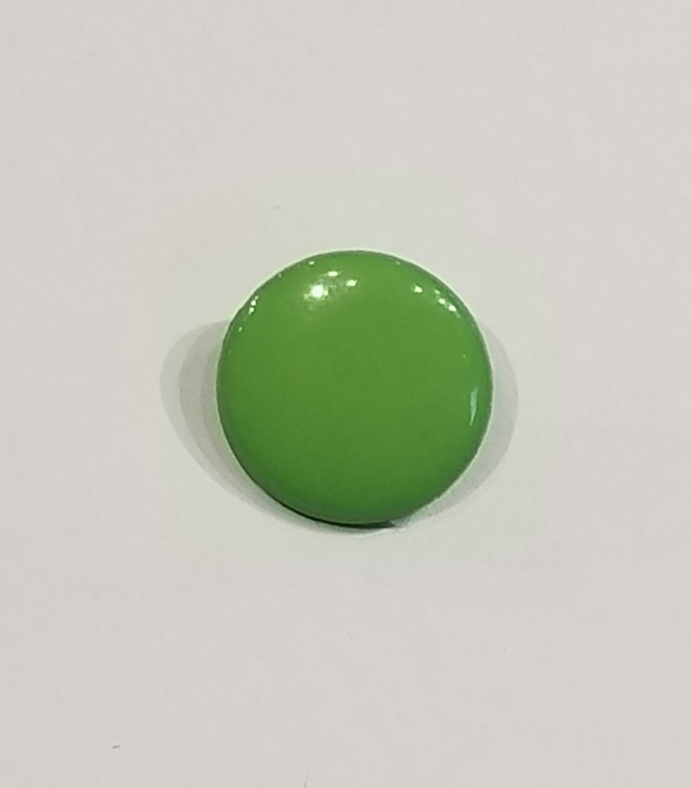 Buttons 15mm Green shank