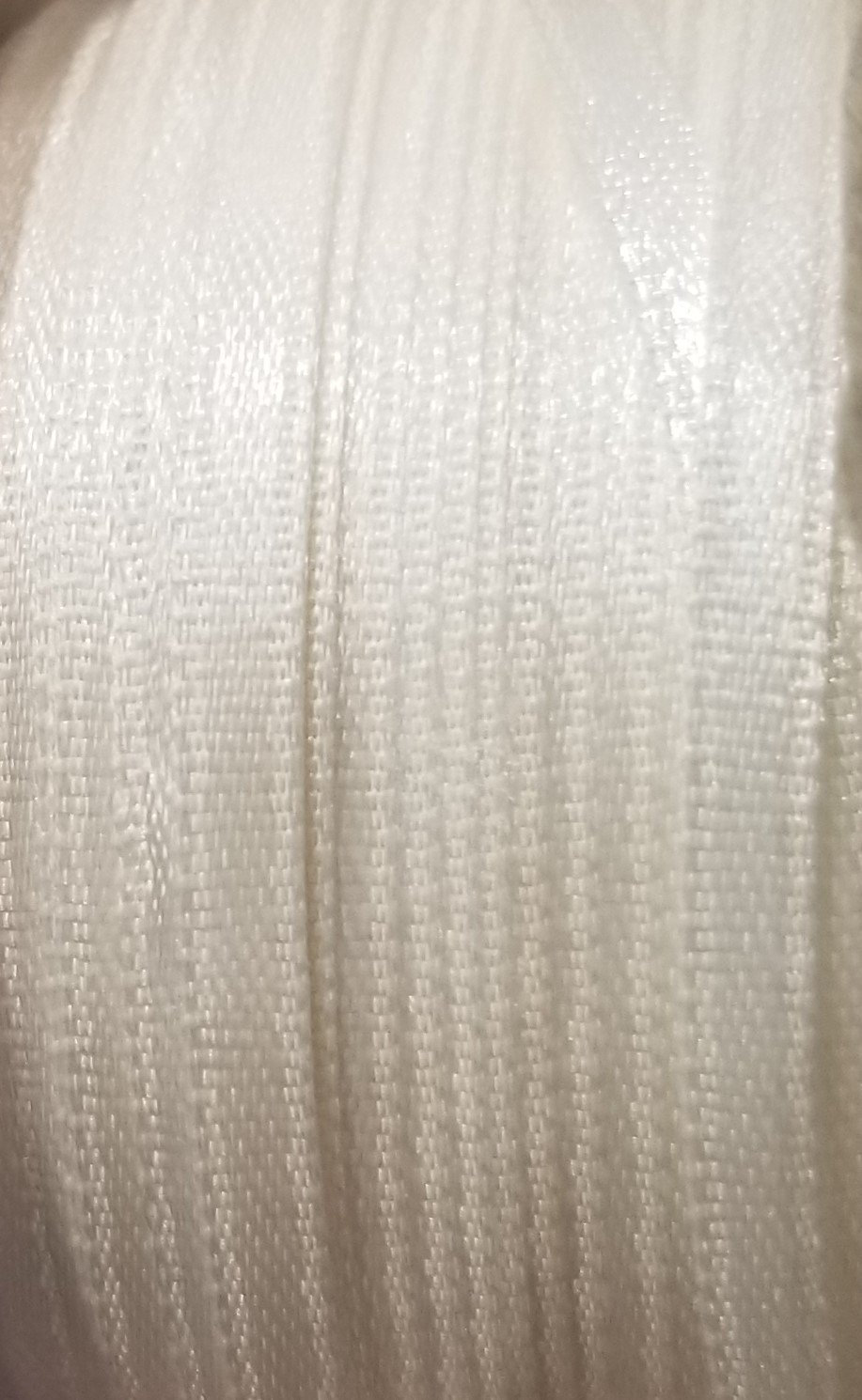 1/8 Antique White Satin Ribbon
