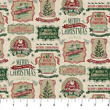 VINTAGE CHRISTMAS VINTAGE LABELS