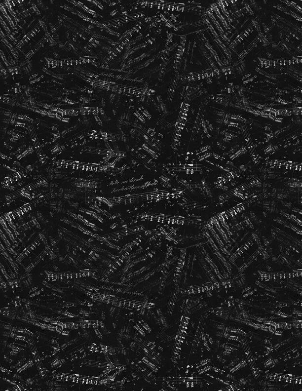 Sheet Music Black