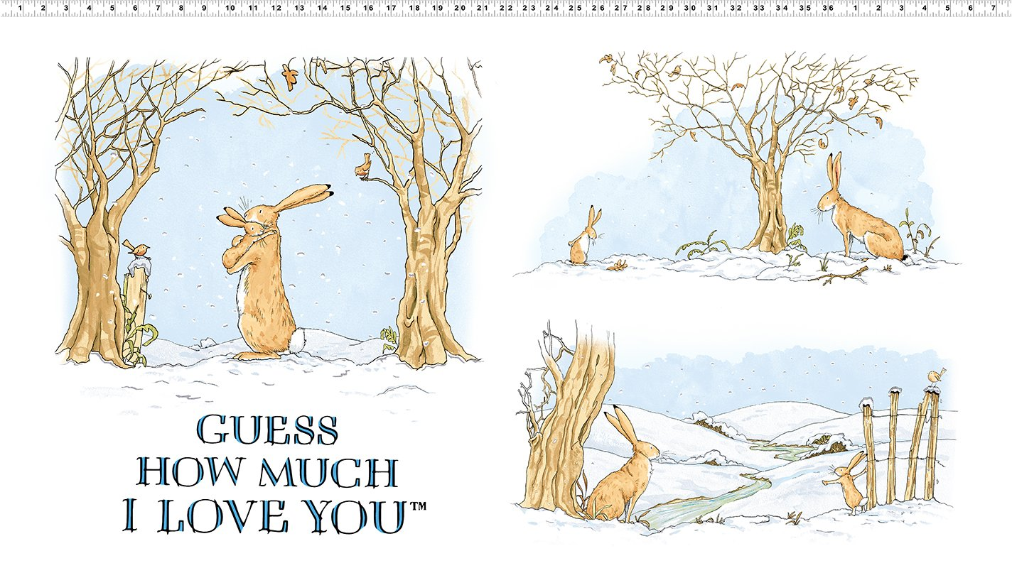 Guess How Much I Love You Panel by Anita Jeram