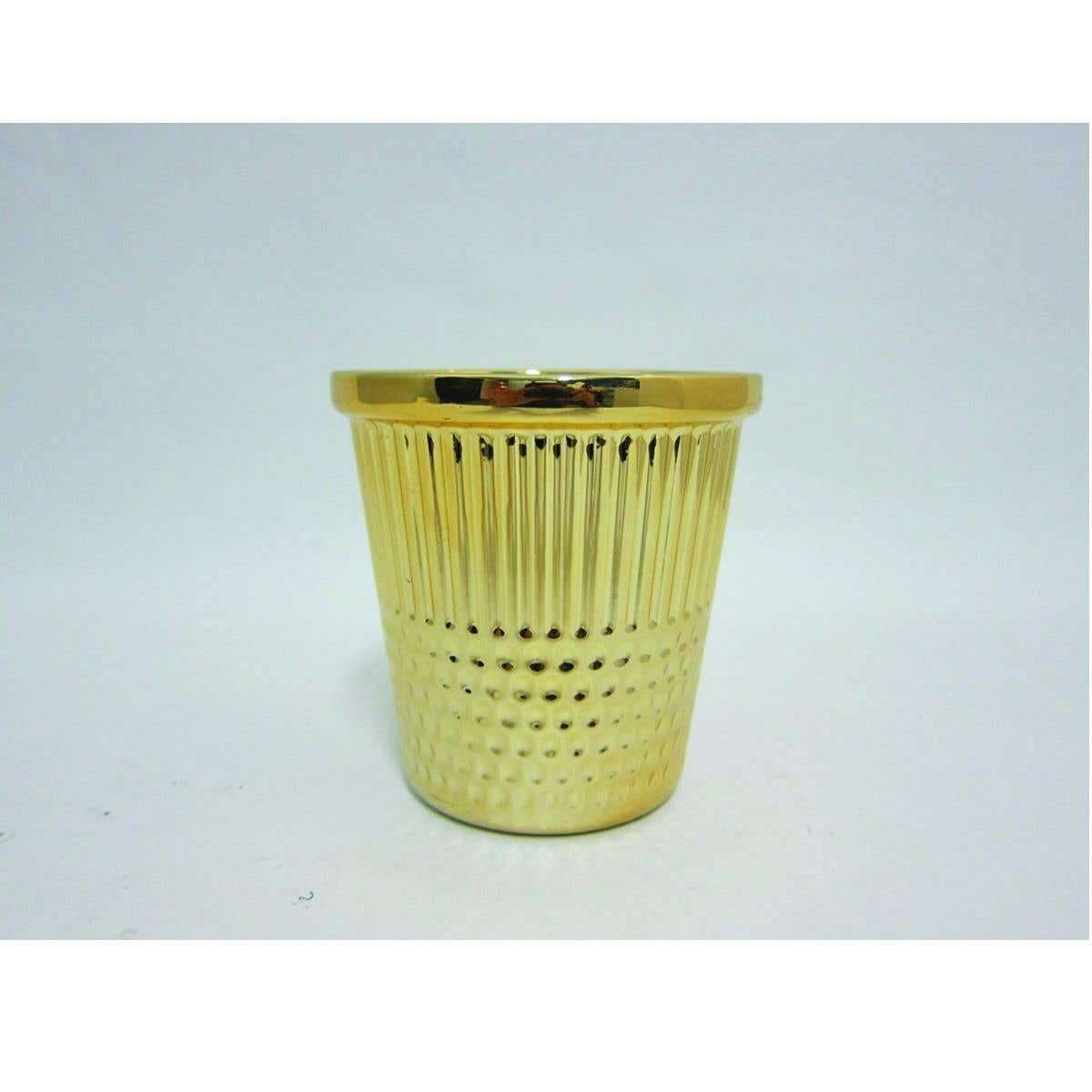 Gold Thimble Craft Container