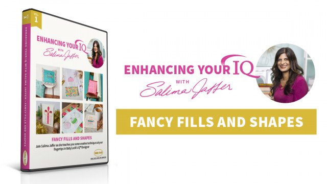 Volume 1: Fancy Fills and Shapes, Enhancing Your IQ with Salima Jaffers