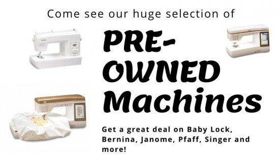 Pre-Owned Machines