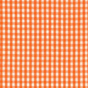 1/16 Orange Gingham - Fabric Finders