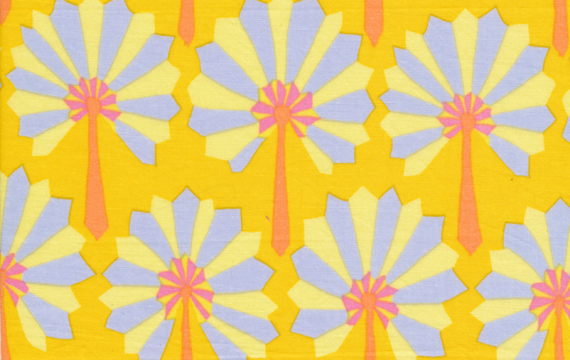 Palm Fan Yellow