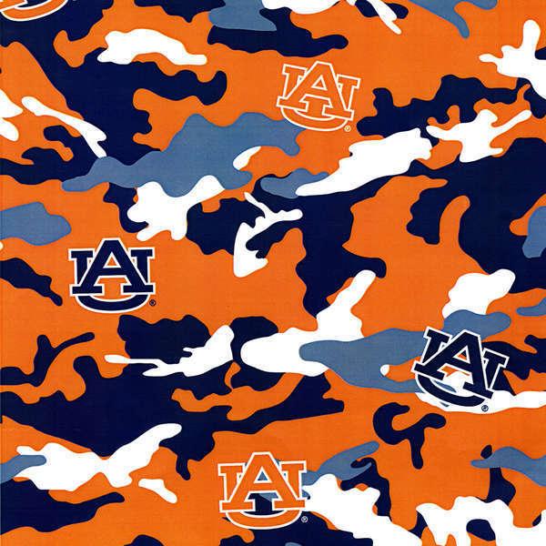 Auburn Camouflage Print
