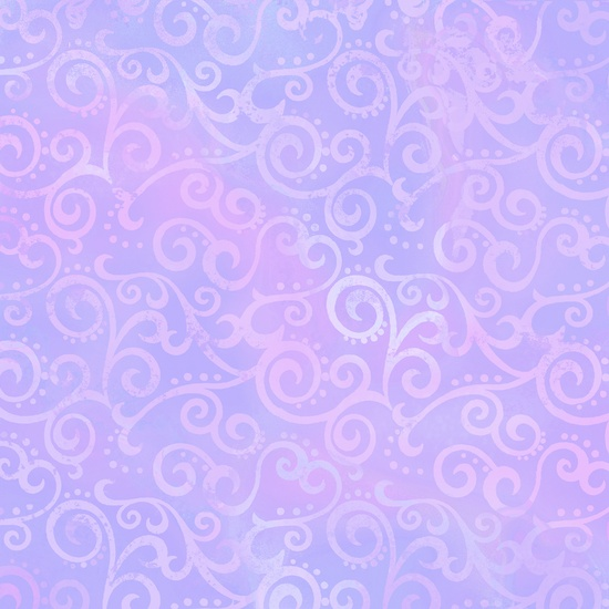 Ombre Scroll Lilac