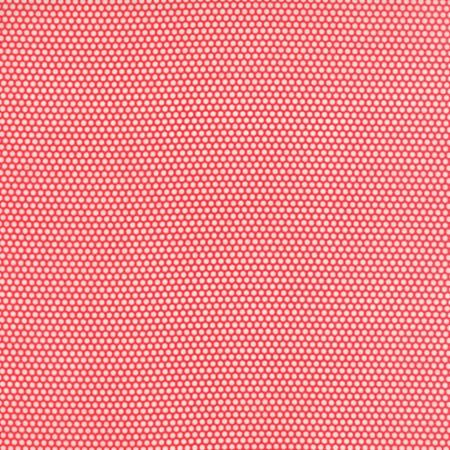 Little Bliss Dots Red Flannel