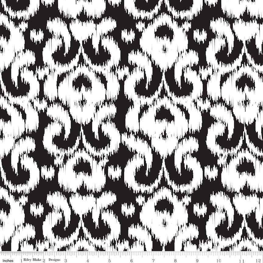 Ikat Knit Black