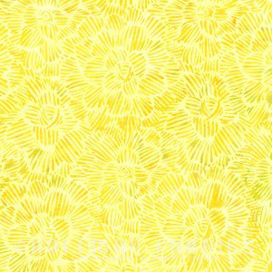 Floral Texture Pineapple