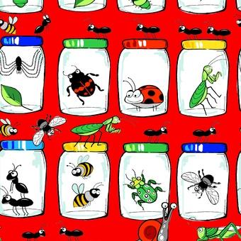 Garden Critters Jars