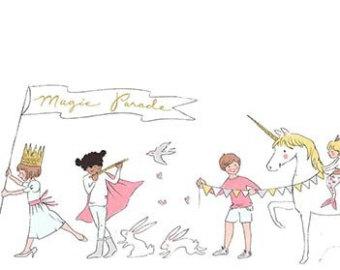 Magical Parade White