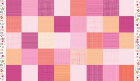 Spring Patchwork Pink