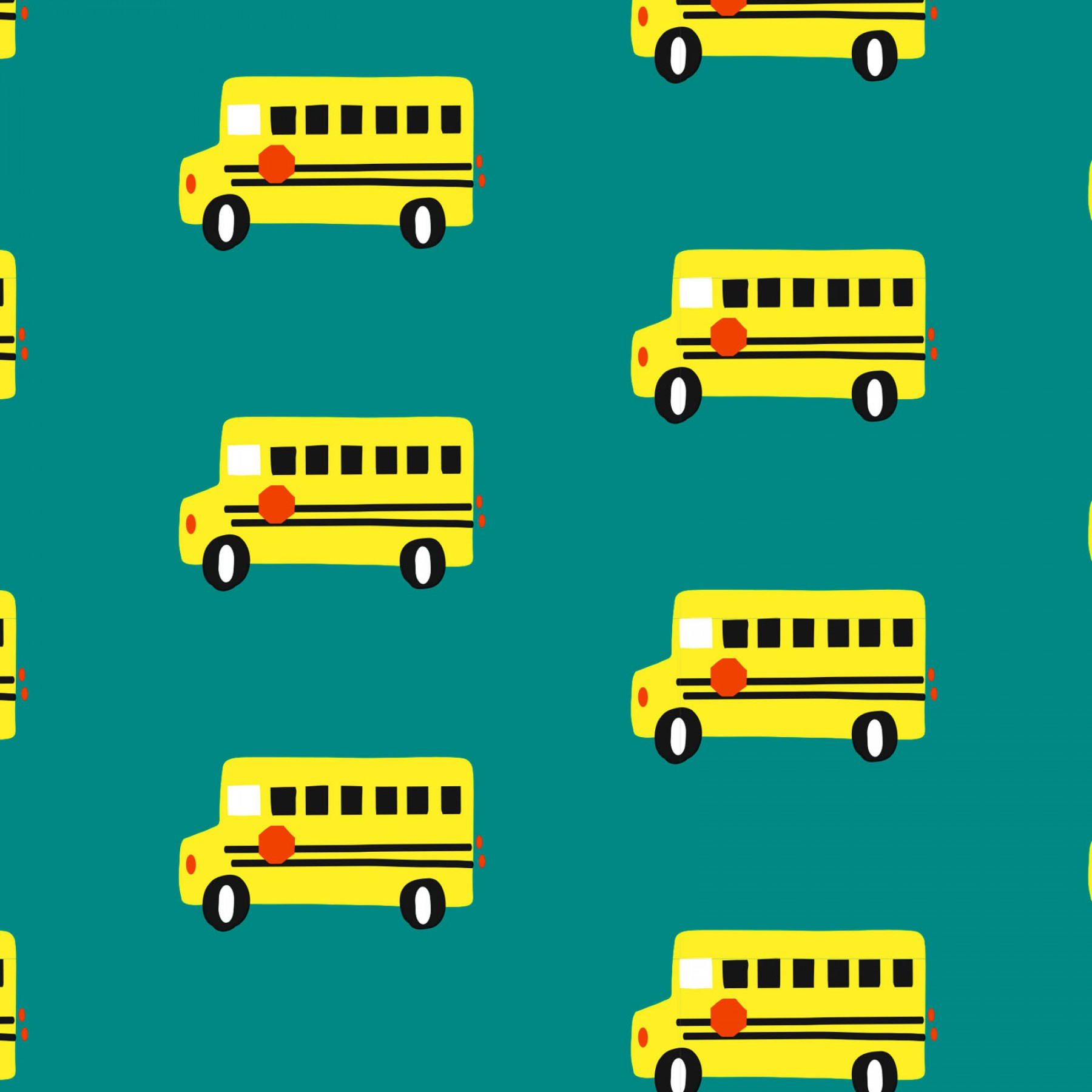 Knit School Bus