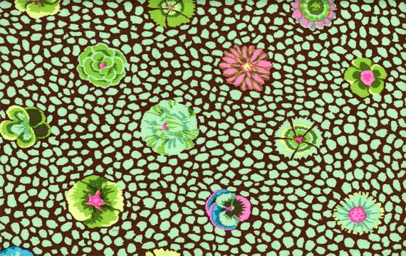 Guinea Flower Green