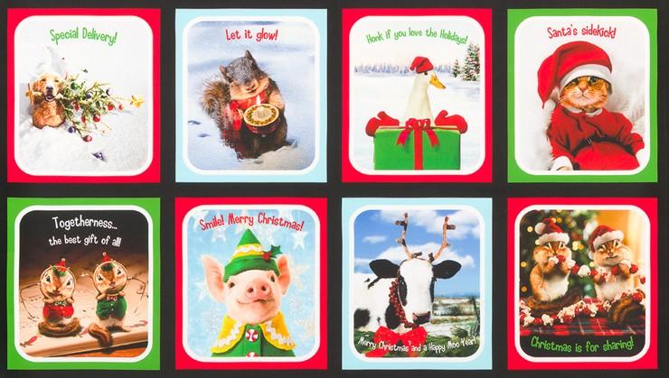 Santa's Sidekicks Panel