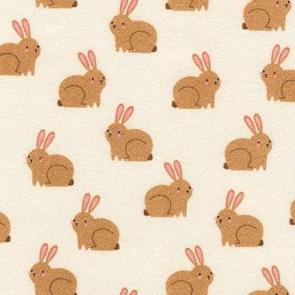 Woodland Bunny Flannel
