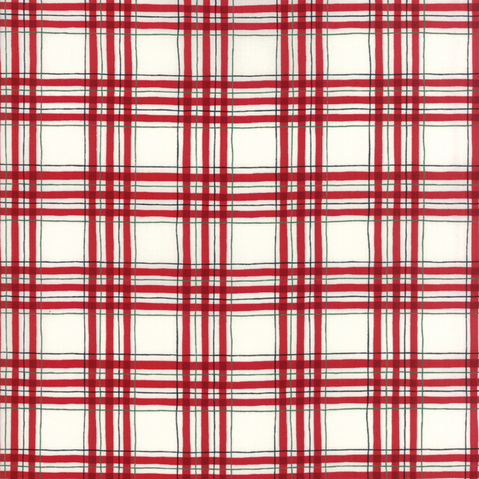 Winter Plaid Red