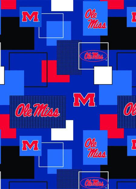 University of Mississippi Rebels Blocks