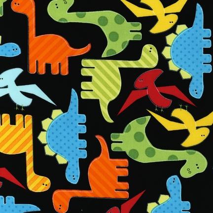 Dinosaurs Black