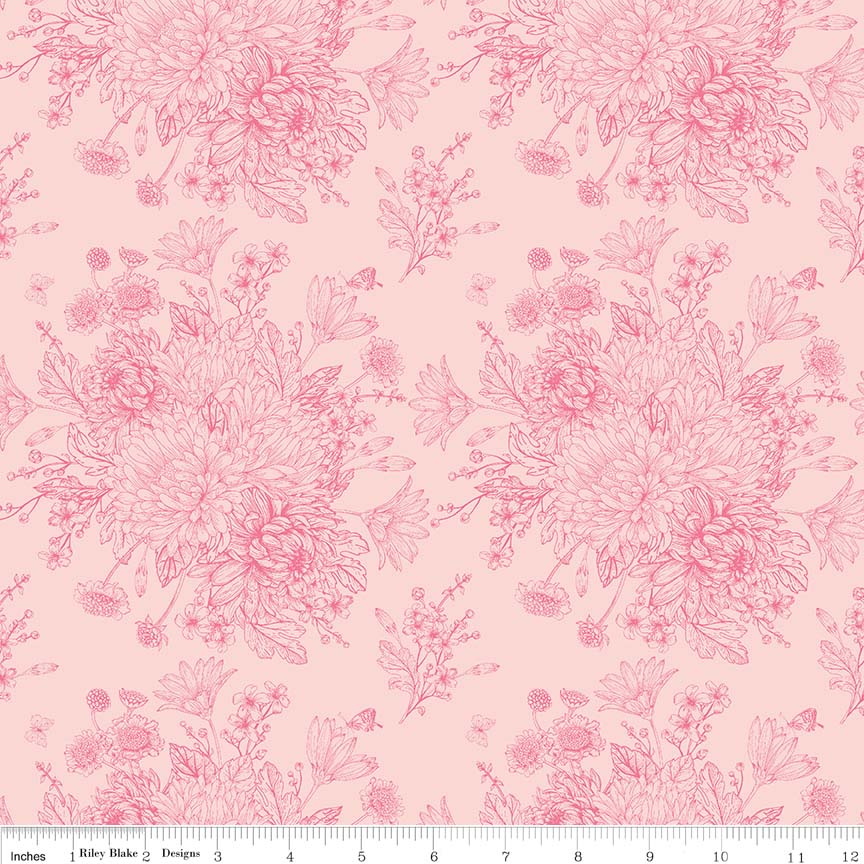 Love Story Floral Pink