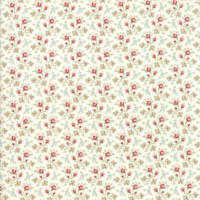 Floral Rosebuds Multi