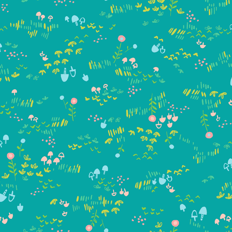 Nohara Turquoise Knit
