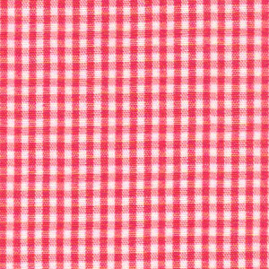 1/16 Watermelon Gingham - Fabric Finders