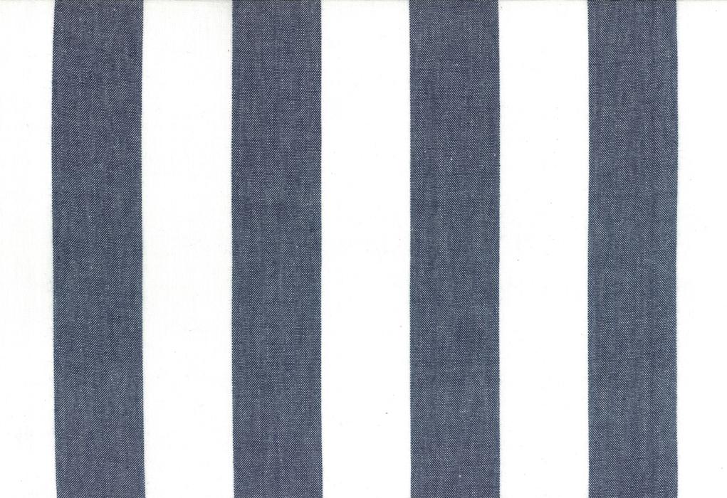 Picnic Toweling Navy Stripe