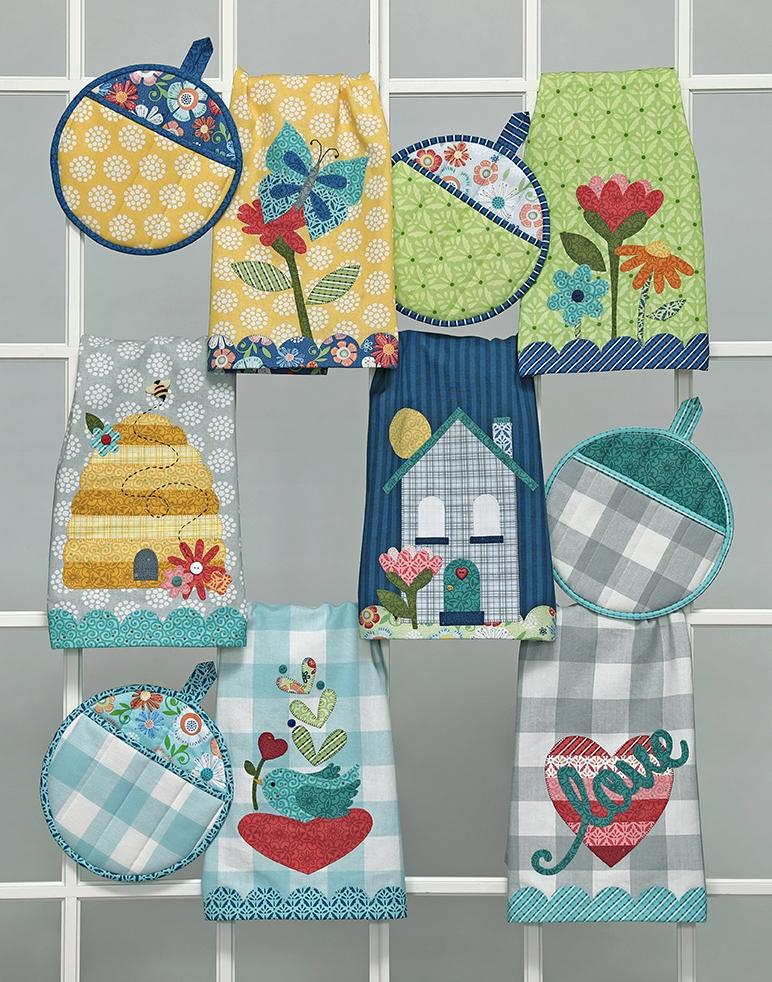 Home Grown Tea Towels 6 Pack