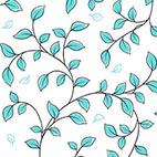 Leaf Vine Aqua