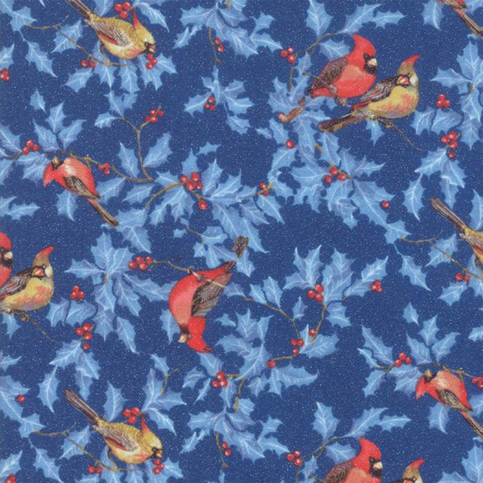 Metallic Cardinals Dark Blue