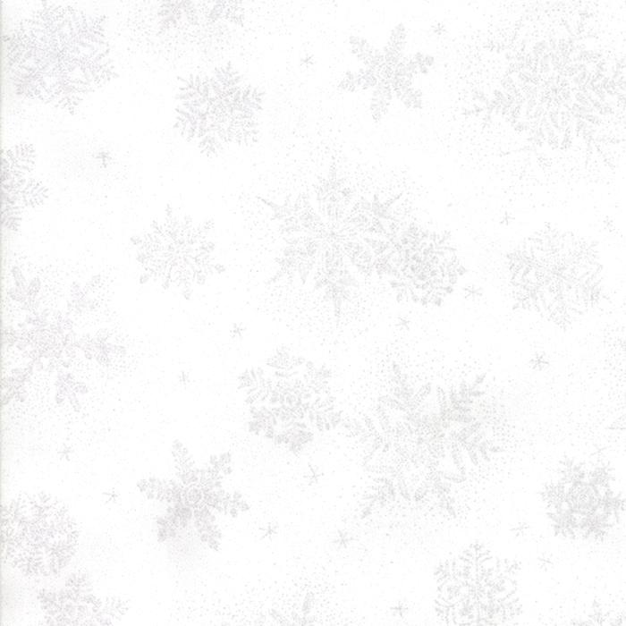 Falling Snowflakes White