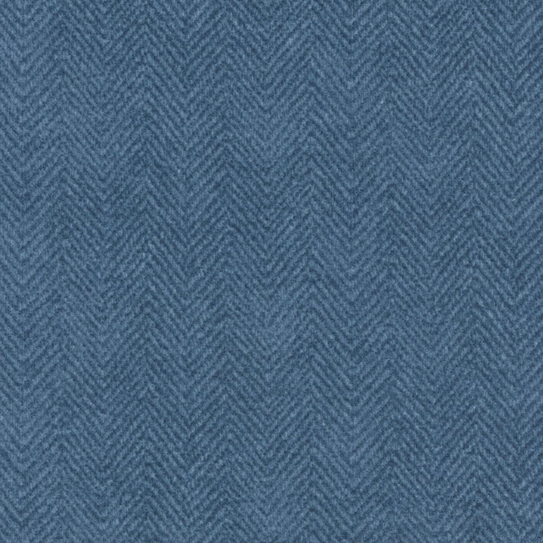 Woolies Herringbone Dusty Blue
