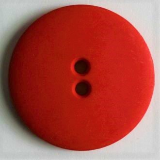 Bright Red Buttons - 15 mm 2 hole color Bright Red