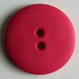 Hot Pink Buttons - 15 mm 2 hole color 22