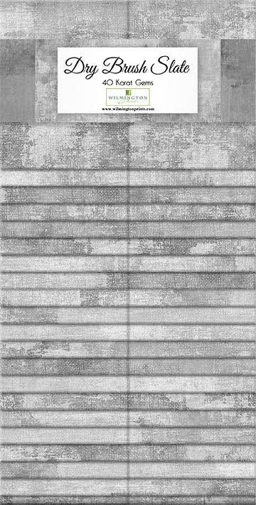 Dry Brush Slate Strips