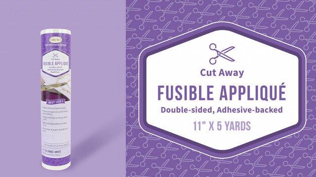 Fusible Applique Cutaway
