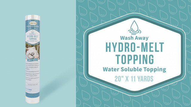 Hydro-Melt Soluble Topping