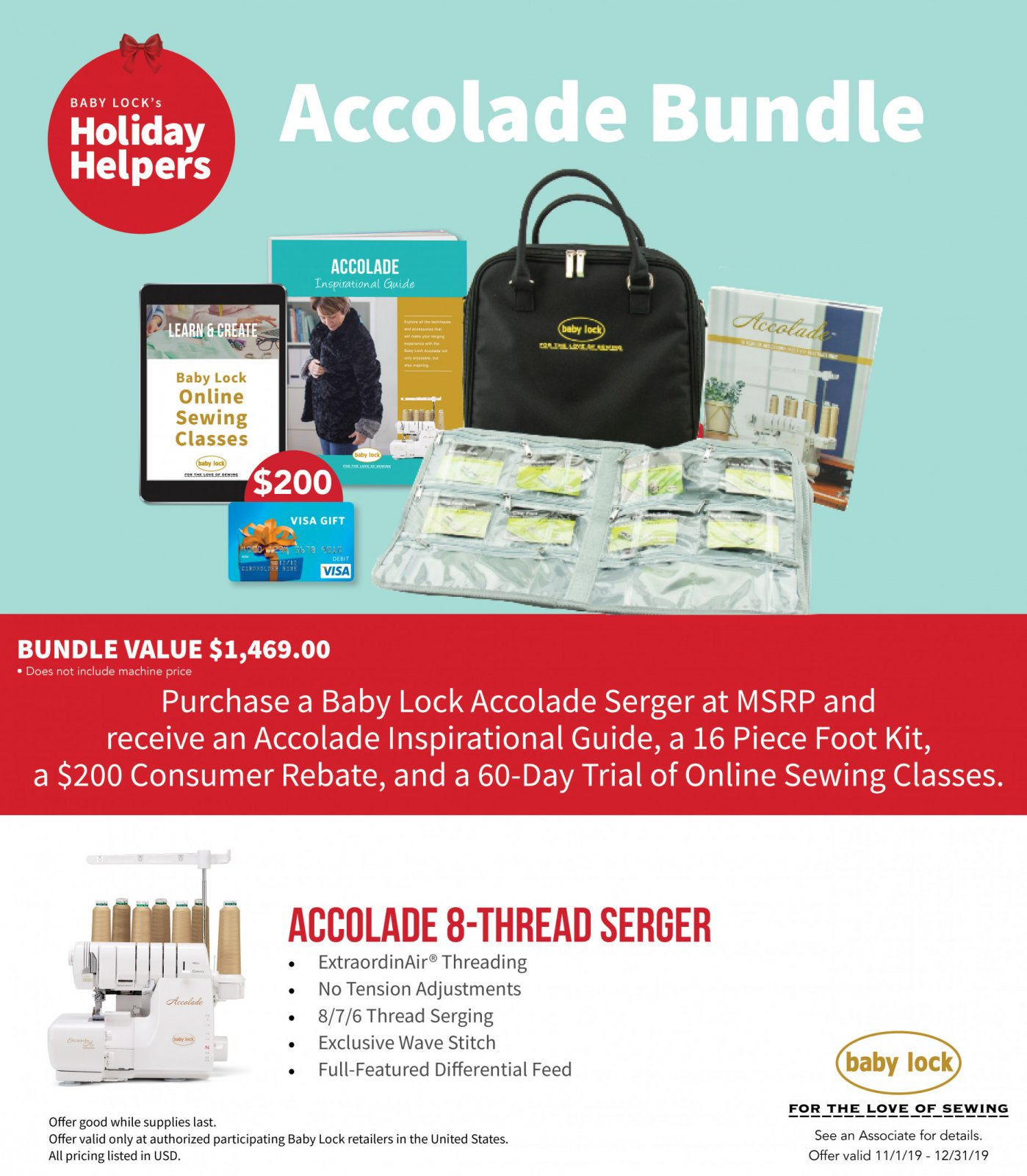 Accolade Promo Deal