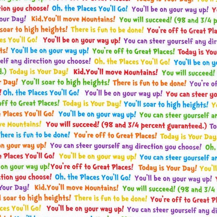 A Little Seuss Multi Text