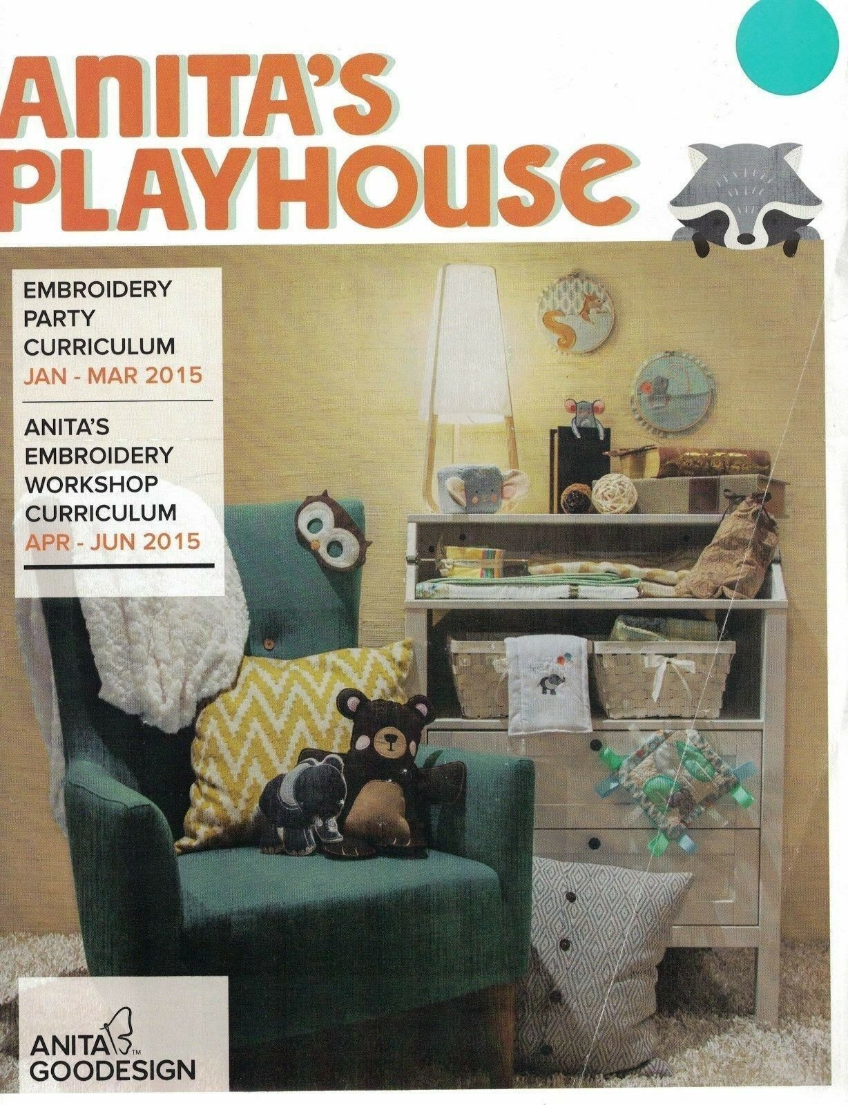 Anita's Playhouse Embroidery Party Curriculum