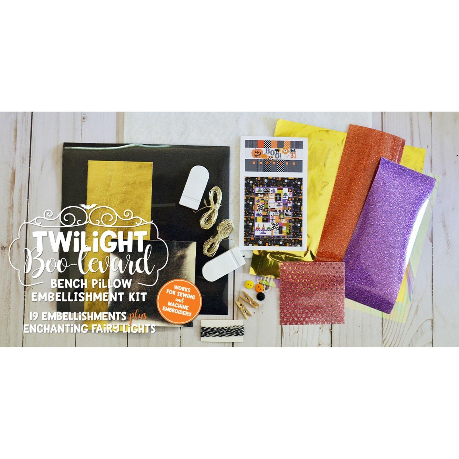 Kimberbell Twilight Boo-Levard Embellishment Kit
